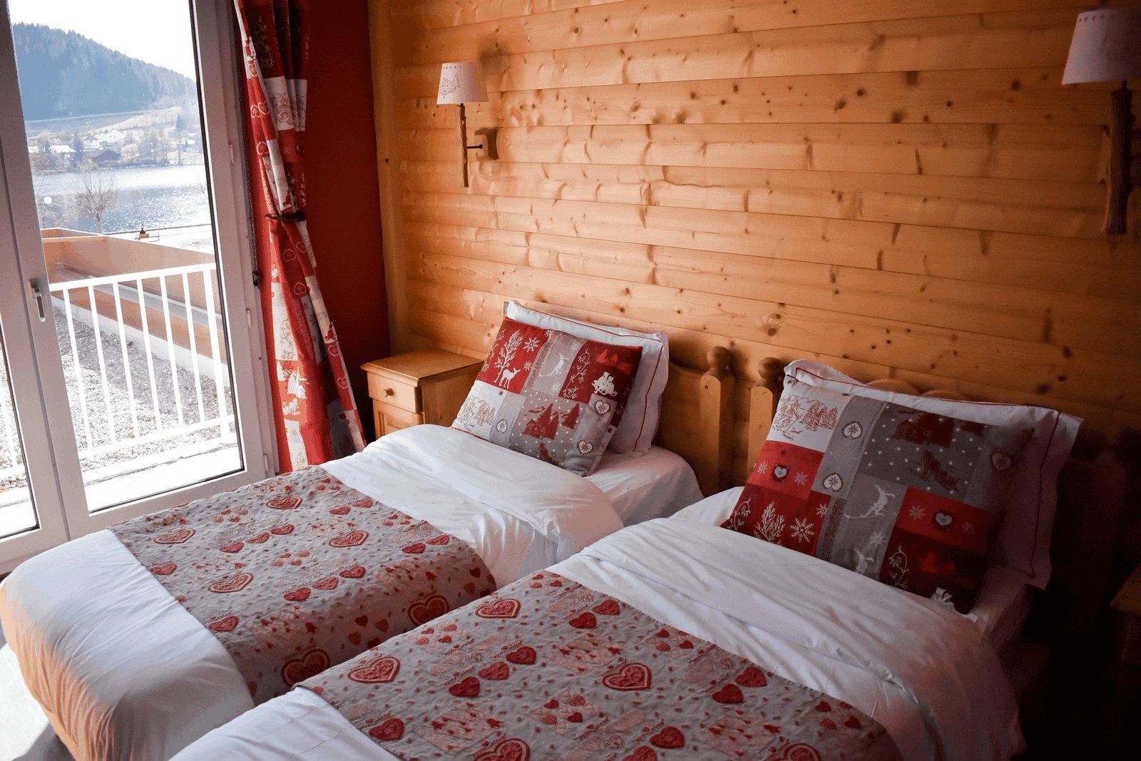 chambre hotel twin