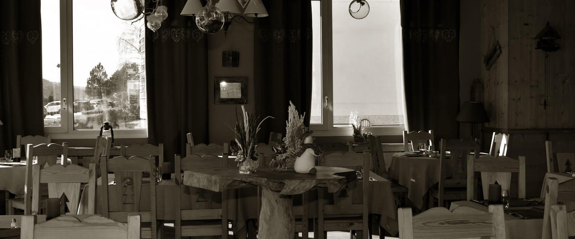 Restaurant lac gerardmer