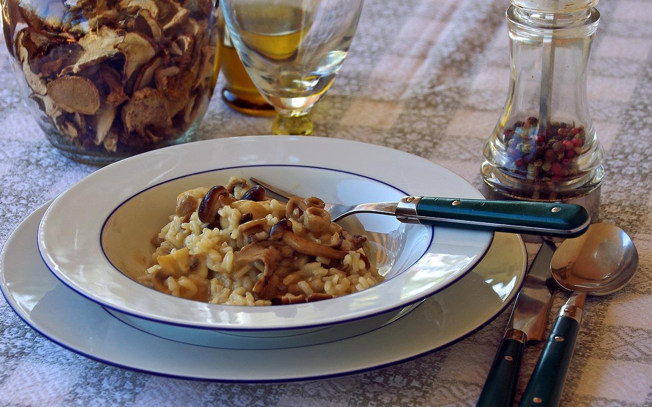risotto-champignons