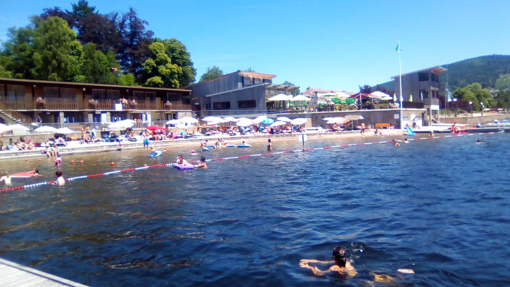 beach swimming vosges